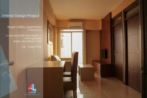 Interior Design Project at Bogor Valley Apartement by dokmaliving