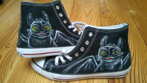 Toothles Sneakers by melyone