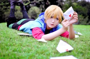 Kagamine len cosplay by mianmian123