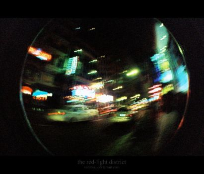 the red-light district by vaNINski