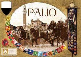 """Cover for the game """"Palio"""" by Erebus74"""
