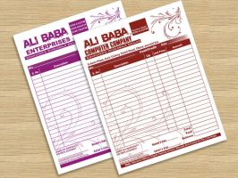 letter pad by shahjee2