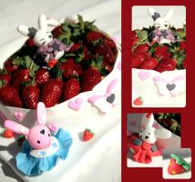 Bunny Cake by I-am-Ginger-Pops