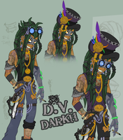 D.V. Darkh Character Concept by DaGreatVincE