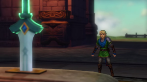 Link and the goddess sword by isaac77598