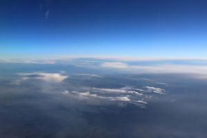 Sky seen from above by AlmetosDon