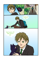 Free!/Sailor Moon Page 1 by CardcaptorKatara