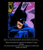 My Goddamn Batman says 2 by MexPirateRed