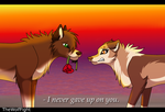 I never gave up on you. by TheWolfFight