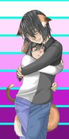 BL Hug. So there - 3-' by LawlietTheCupcake