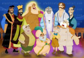Disney Dads by AladdinsFan