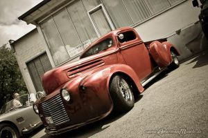 ford custom pickup by AmericanMuscle