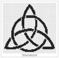 Free pattern: triquetra by dustnroses