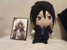 Black Butler Merchandise Came In The Mail! by HinataFox790
