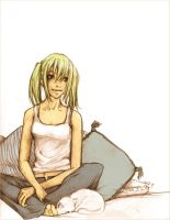 Kaori: relaxed by shadowbucket