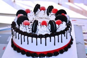 Oreo Ice Cream Cake by hrbutunts