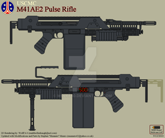 USCMC M41AE2 Pulse Rifle by Wolff60