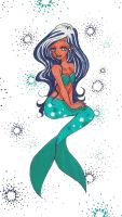 mermaid by ThEsIlKe
