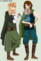 Ancientalia - Mommy Britannia And Papa Gaule by P-ChanAndP-Kun