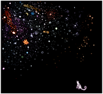 the universe. by hyyb