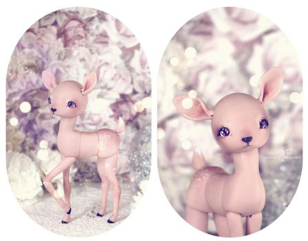 Fanny, the Deer by Mikiyochii