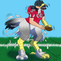 Atlanta Falcon by Banana-of-Doom2000