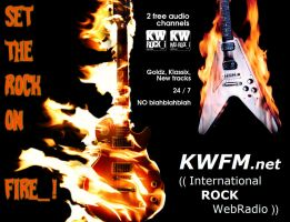 KWFM.net _ SET THE ROCK ON FIRE_! by KWFMdotnet