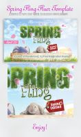 Spring Fling Easter Edition by InkazDesignz