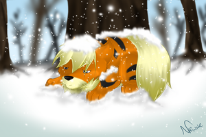 Loneliness Cold by nhinhe
