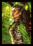 Enchanted forest: Half-Elf by Anne86