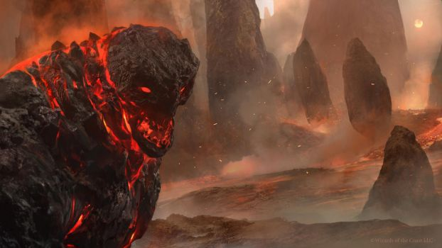 Duels of the Planeswalkers 2014 - Lava Mage by Cryptcrawler
