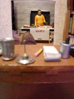 Bookbinder Diorama: All Three Rooms Mock-Up 2 by skphile
