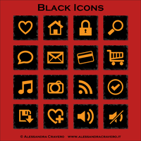 Black Icons by LaAlex