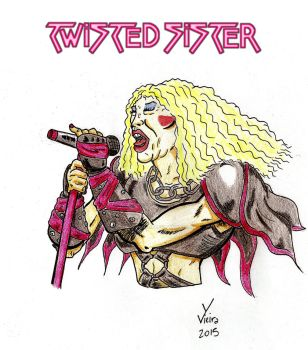 Dee Snider - Twisted Sister by Ygor-oraculo