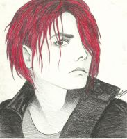 Gerard Way by MyAbsentRomance