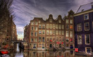 I can swim -Amsterdam- by longliveboy
