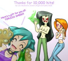 10,000 hits by KatiraMoon