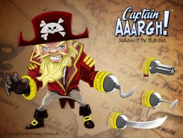 Model sheet for Captain AAARGH by ErikHodson