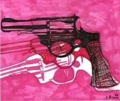 Andy Warhol Guns by TieDyeLemur