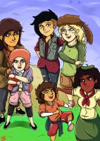 Lumberjanes! by Crescendolls187