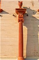 19th century column, stock by paintresseye