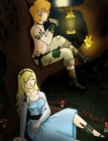 Peter and Alice by Jessiphia