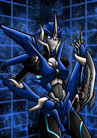 TFP Arcee Colour by Berty-J-A
