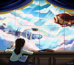 Bioshock Infinite commission by FauxBoy