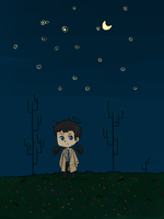SPN - Starry night by Feather482322