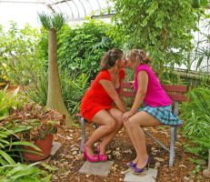 Lesbian Garden of Love 4 by candhphotography