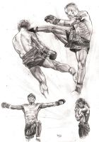 Muay Thai by Alleycatsgarden