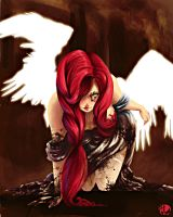 Fallen Angel by Linear-LAmour