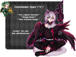 Commission Open by JinkiMania