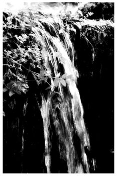 waterfall by lessthan2